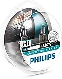 Philips 12258XV+S2 Philips X-tremeVision halogen headlamp H1 12258 XV+ 12V 55W P14,5s S2  +130% more light 45m longer beam, Set of 2