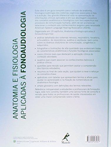 Anatomia E Fisiologia Aplicadas à Fonoaudiologia