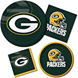 Creative Converting 8 Count Green Bay Packers Paper