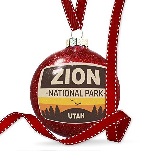 Christmas Decoration National Park Zion - T Zion Glasses