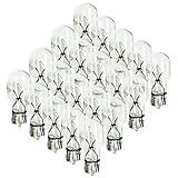 12 lightbulb - BIN 4 Watt Wedge Base 12V Light Bulbs - 20 Pack Malibu Style - NEW