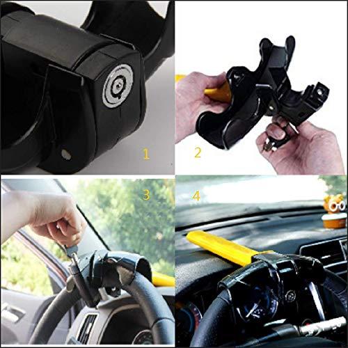 Anti-Theft Auto Van Security Rotary Latch Beikal Universal Car Steering Wheel Lock