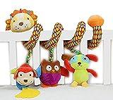 SKK Baby Musical Spiral Activity Toy Plush Lion