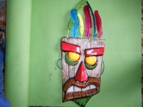 CUSTOM Aku Aku - Crash Bandicoot Ooga Booga Man Mask 1 Of 10 Made