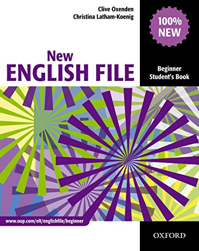 New English File.. Beginner Student's Book