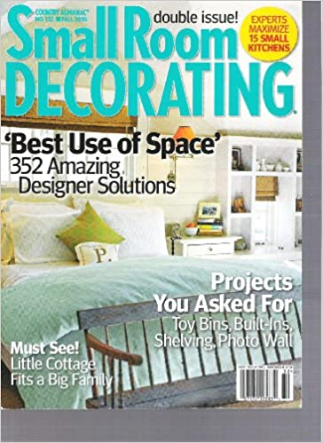 Small Room Decorating Magazine Country Almanac (Better Use of Space ...