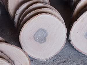 Madera Lunas, algodón, aprox. 30x 3, fresno W. roble