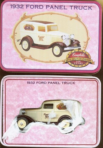 Ertl Campbell's Soup 1932 Ford Panel Truck