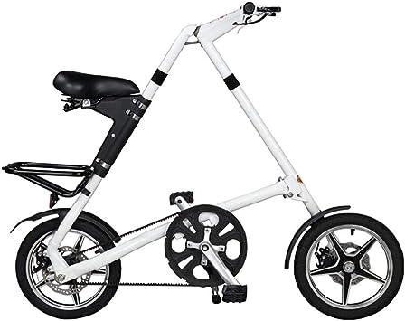 WYFDM Bicicletas, Bicicleta Plegable Rueda de 16 Pulgadas Completa ...