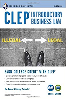 clep-introductory-business-law-book-online-2nd-ed-clep-test-preparation