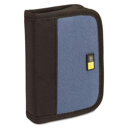 Case Logic JDS6BBK Media Shuttle, Holds 6 USB Drives, Blue