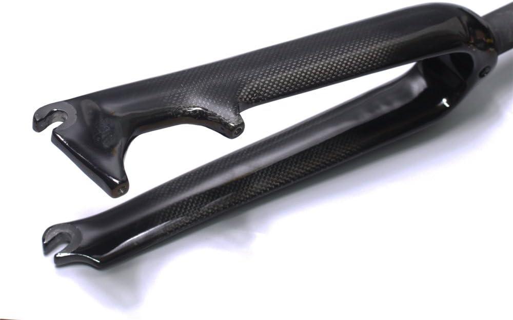 EC90 Carbon BMX Fork 20er 20 inch Folding Bike 3K Carbon Fiber Bicycle Front Forks Disc Brake