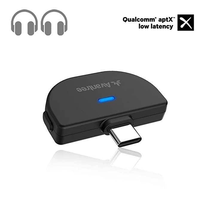 Avantree C51 USB Tipo-C Bluetooth 5.0 Adaptador transmisor de ...
