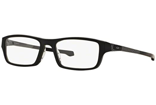 20dbb80b18 Oakley Chamfer OX8039 Eyeglasses -13 Satin Black -51mm at Amazon ...