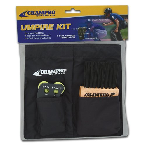 Champro Umpire Kit for A045,A040,A048 (Black)