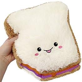 Sandwich Plush | Peanut Butter and Jelly - 10 Inch | Squishable Mini 9