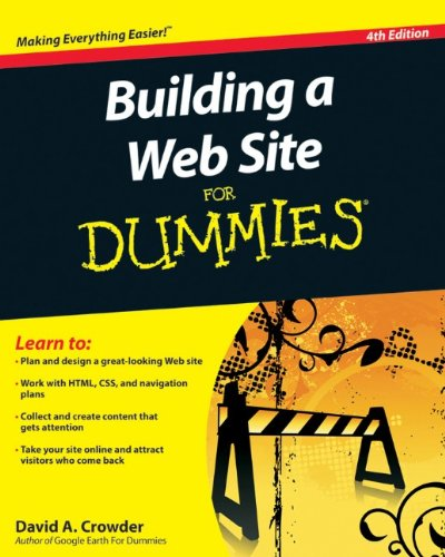 [PDF] Building a Web Site For Dummies, 4th Edition Free Download | Publisher : For Dummies | Category : Computers & Internet | ISBN 10 : 0470560932 | ISBN 13 : 9780470560938