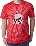 The Silo TIE DIE NAVY Yokozuna Bonzai WWF T-Shirt YOUTH