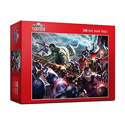500Piece Jigsaw Puzzle Marvel Future Fight: Toys & Games