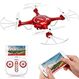 SYMA X5UW Wi-Fi FPV 720P HD Camera Quadcopter with Flight Plan Route and Altitude Hold Function App Control Drone