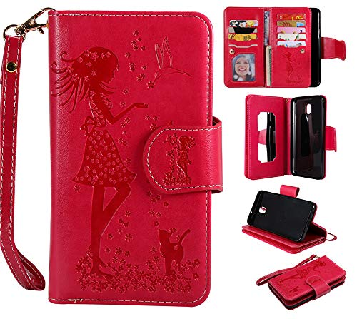 Galaxy J7 2018 Case,XYX [9 Card Slots] PU Leather Wallet Case for...
