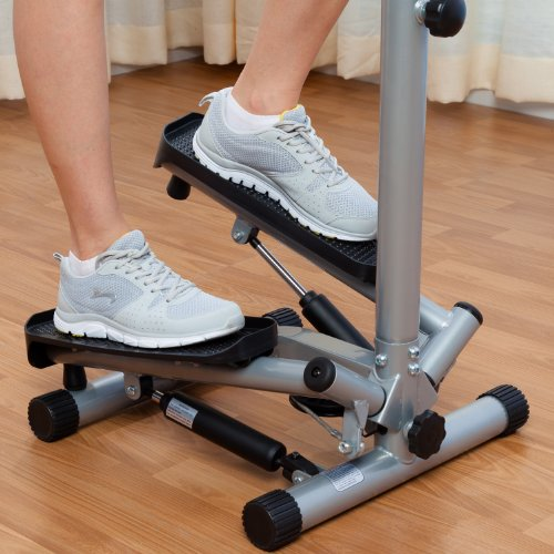 Sunny Health & Fitness 059 Sunny Twister Stepper with Handle Bar