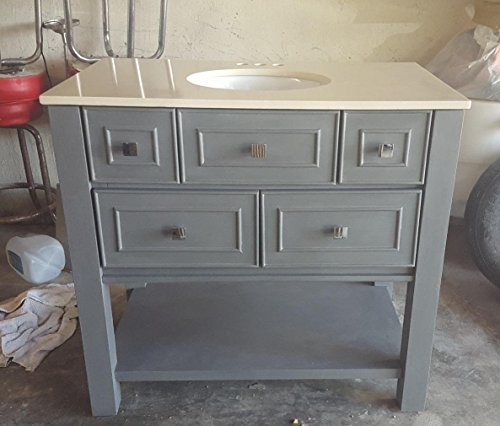 Retique It Chalk Furniture Paint by Renaissance DIY, 16 oz (Pint), 05 Stone Castle