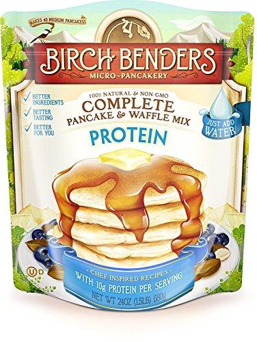 Birch Benders Pancake Waffle Mix Protein, 24 oz (Plant Protein Mix)