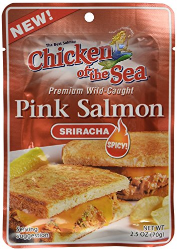 Chicken of the Sea Sriracha Salmon, 2.5 Ounce Pouch