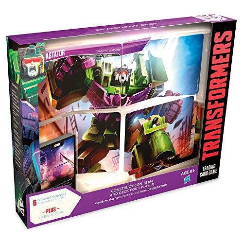 - Transformers TCG: Devastator Deck | Ready-to-Play Deck | 46 Cards Incl. Devastator's Combiner Team