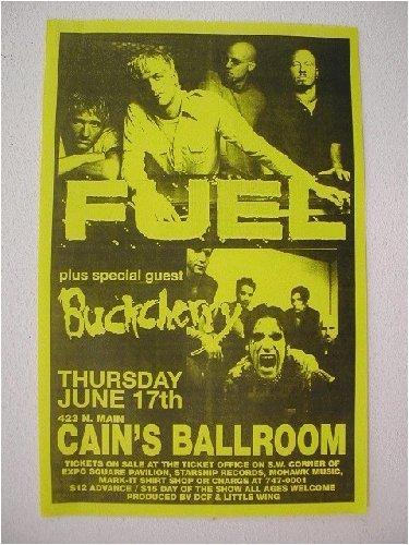 - Fuel Buckcherry Handbill Poster Band shots
