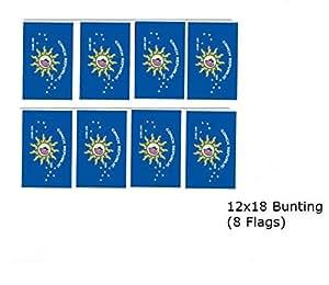 12x 18Conch Republic Key West banderines banderas Banner (8banderas)
