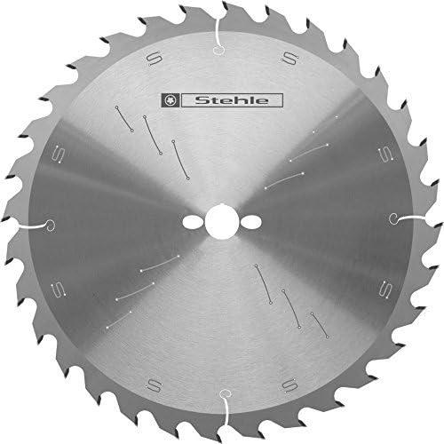Stehle Manual Circular Saw Blade, HW ZQW Hard Metal (HM), Alternate Bevelled Teeth