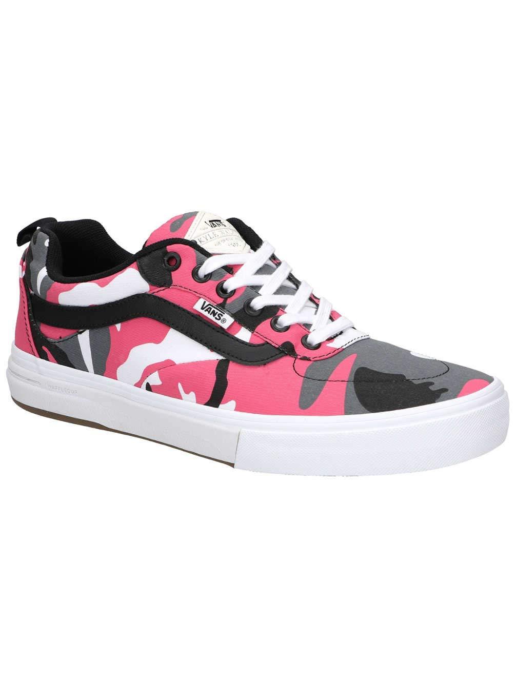 newest special sales cheap sale Vans Kyle Walker Camouflage Pro Skateboard Shoe - Black/Magenta (8.5)