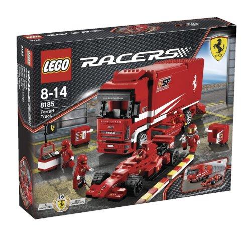 Racers Ferrari F1 Truck - LEGO Racers Ferrari F1 Cargo (8185)