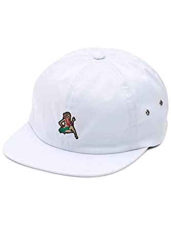e038d87ad14 Image Unavailable. Image not available for. Color  Vans Just Waving Jockey  Baseball Hat White ...