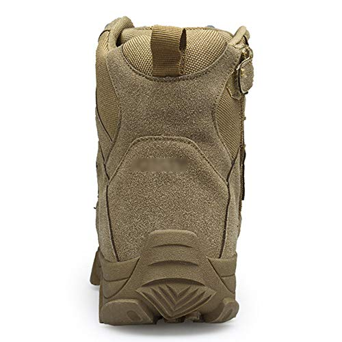Pattini Da PattugliaOutdoor Top LDZY Militari Da High Desert Stivali Da Boots Trekking Uomo Tattici Combat Army Jungle Brown Hunting Shoes qqSnxzOP8