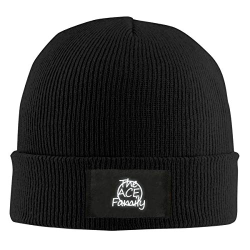 Mower Ace (Women's Men's Knitted Hat The Ace Family Cap Pullover Hat Black)