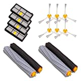Parts Accessories Best Deals - GHB 14PCS Accessories for iRobot Roomba 880 860 870 871 980 990 Replenishment Parts Spare Brushes Kit