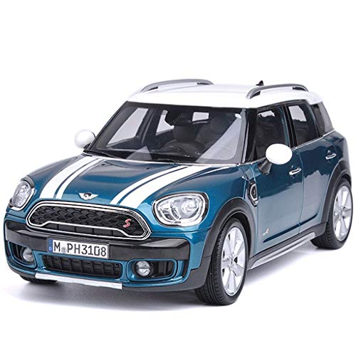 SXET-Model car Model Car Die Casting Model Mini Cooper S Four Door Open Simulation Alloy Car Model Collection Ornaments