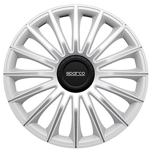 Sparco spc1392sv Set Rueda Cubre Torino Tapacubos (13), Color Plateado: Amazon.es: Coche y moto