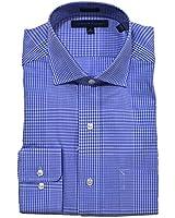 Tommy Hilfiger Mens Regular Fit Spread Collar Dress Shirt