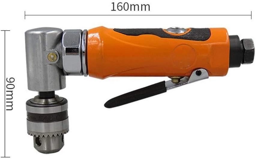 1//4 Air Drill 90/° Elbow Air Drill 6mm Angular Wind Drilling Machine
