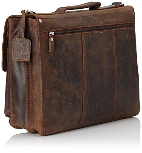 JOST 7611-003 Aktentasche, 40 cm, Brown Brown