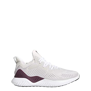 cfcf6e73137 adidas Alphabounce Beyond NCAA Shoe Mens Running 5.5 White-Silver  Metallic-Maroon