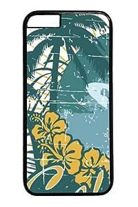 California Surfing 14 Custom iPhone 6 Case Cover Polycarbonate Black