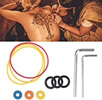 SUPVOX 1 Juego de herramientas para tatuaje Bandas de goma O-ring ...