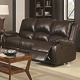 Coaster-Home-Furnishings-600971-Casual-Motion-Sofa-Brown