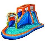 Plummet Falls Adventure Kids Inflatable Outdoor Water Park Pool Slide With Ebook