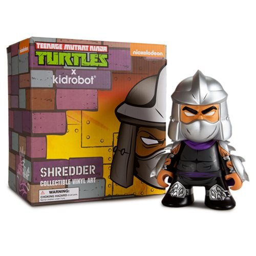 Teenage Mutant Ninja Turtle Shredder Vinyl - Kidrobot Shredder